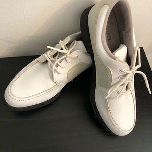 Footjoy women's white golf shoes size 7 1:2